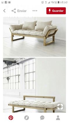 There are a number of kinds of contemporary sofa in the furniture industry. Generally, every sofa design is offered in an assortment of a variety of sizes and configurations to fit your needs. Cool Furniture, Furniture Design, Furniture Ideas, Small Space Furniture, Furniture Removal, Furniture Stores, Pallet Furniture, Sofa Design, Interior Design