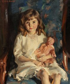 View Portrait of Gertrude by Louis Betts on artnet. Browse upcoming and past auction lots by Louis Betts. Doll Painting, Figure Painting, Painting & Drawing, Digital Museum, Collaborative Art, Art Themes, Renoir, Portrait Art, Monet