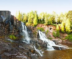 Gooseberry Falls, one of the top destinations in our North Shore trip guide.