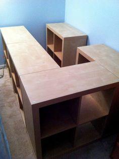 Expedit storage bed - IKEA Hackers