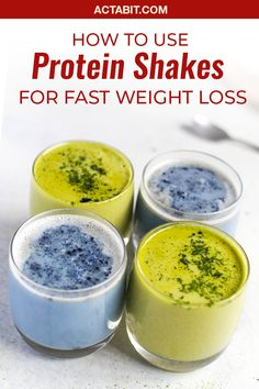 Healthy protein shakes are great for meal replacement when you need to lose weight and gain muscle. Easy protein shake recipes offer a convenient way for women to cut calories and increase protein intake.