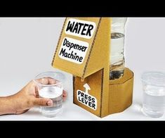 Diy_ocean's Activity - Instructables Stem Fair Projects, Diy Craft Projects, How To Make Water, How To Make Drinks, Drink Dispenser, Water Dispenser, Vending Machine Diy, Vending Machines, Plastic Bottle Cutter
