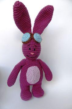 Mim Mim Bunny Look-alike Crochet Soft Toy 17 by TheCrochetBoxUK