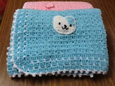 Baby boy blanket ❤️ I follow these blanket pattern from  Yolanda Soto Lopez