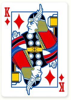 Poker Vengadores : Miguel Naranjo