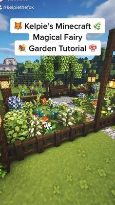 Minecraft Farm, Minecraft Cottage, Easy Minecraft Houses, Minecraft House Tutorials, Minecraft Plans, Minecraft House Designs, Minecraft Construction, Amazing Minecraft, Minecraft Tutorial