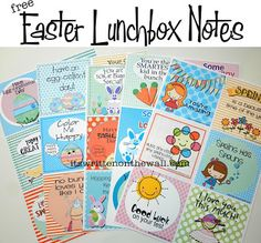 It's Written on the Wall: (Freebie) Give Lunchbox Notes To Your PreSchoolers Now - Door Knob Hanging Tag