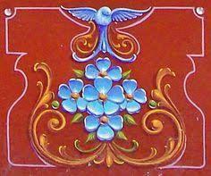 Imaginarium: Elvio Gervasi y su Porteño Filetear Ceramic Painting, Ceramic Art, Pintura Tole, Repainting Furniture, Scroll Design, Bottle Painting, Sgraffito, Folk Art, Tapestry