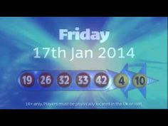 #EuroMillions Draw #Results #17thJanuary 2014.