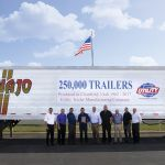 Utility Trailer Manufacturing Builds its 250,000th Reefer in Clearfield, Utah