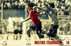 #MatíasFernández #Chile #Fútbol #Soccer