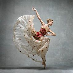 And, something magical...Miriam Miller, New York City Ballet. photo by Ken…