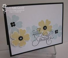 Flower Shop Class to Go card making kit - everything included!  from Flowerbug's Inkspot