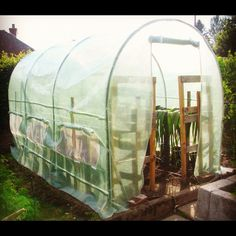 DIY Greenhouses with Great Tutorials