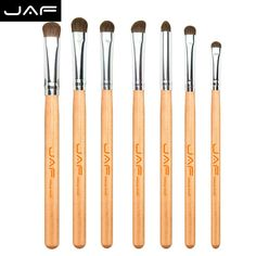 Natural Hair Eye Makeup Brushes Set Professional Eyeshadow Brush For Make-up Contour Brushes JE07PY Free Ship