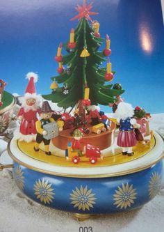 RARE Steinbach German Erzgebirge Christmas Music Box No 003 Handsignet   eBay