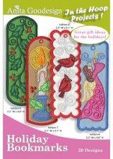 Anita Goodesign | Holiday Bookmarks - Anita Goodesign