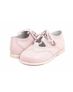 Zapatito inglés color rosa o azul - JEROMIN #zapatosbebes #calzadobebes #modabebes #zacoss #jerominmoralejagreen #jerominarturosoria #jeromin