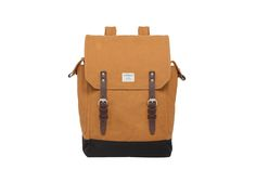 "BOB - WAXED CANVAS  ""This Sandqvist backpack is great because I often travel during weekends and a backpack this size would suffice. Also love the bold mustard/khaki colour and those leather buckles too!"" - Candice, LOVESPACE's Partnerships Team"
