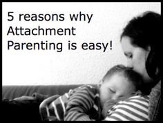 Mummyology:: Attachment Parenting is Easy