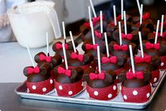 Minnie Mouse Cake Pops – Kawaii Sweets | Kawaii Foods