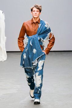 The Latest Xander Zhou Menswear Collection is Conceptual #menswear trendhunter.com
