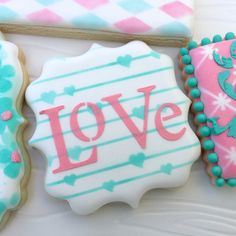 Artfully Designed Creations Love Cookie