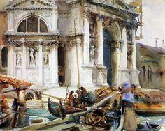 Santa Maria della Salute 1904. Джон Сингер Сарджент