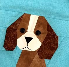 New Paper Piecing Dog Patterns - Made By Marney