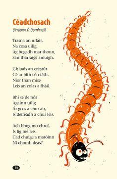 14 Irish Poems, Gaelic Words, Literacy And Numeracy, Irish Language, Celtic Culture, European Languages, Poetry Books, Idioms, Scotland