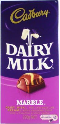 Do you remember the Cadbury Dairy Milk Marble??