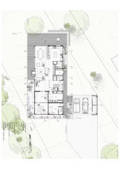 Casa BO / Plan B Arquitectos Good floor plan, strange exterior design.