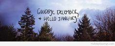 Fb cover hello january goodbye december