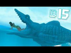MOSASAURUS EAT!!    Hungry Shark Evolution - Ep 15 - YouTube