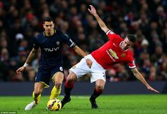 Southampton captain Jose Fonte led from the back for Southampton and kept Robin van Persie...