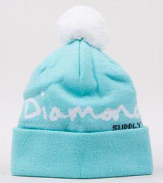 Diamond Supply Co-OG Script Pom Beanie Diamond Blue http://www.defyboardshop.com/shop/pc/Diamond-Supply-Co-OG-Script-Pom-Beanie-Diamond-Blue-438p80843.htm#.UqeNgCiXNiA