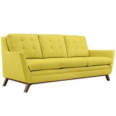 Beowulf Fabric Sofa Sunny