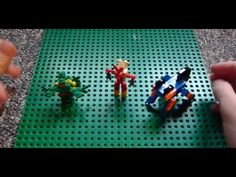 Lego Pokemon + Instructions Part 8 - Sceptile, Blaziken, and Swampert - New Ideas Lego Pokemon, Stem Classes, Lego Machines, Lego Group, Bulbasaur, Blue Tiles, Lego Brick, Legos, Party Time
