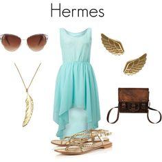 Hermes from Greek Mythology.