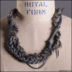 Upcycled Knotted Necklaces : Knotted Jewelry