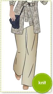 Sailor Sue Palazzo Pant Sewing Pattern By Style Arc - Pull-on palazzo pant is great for all occasions