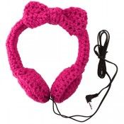 These pair of headphones  are such a cute idea :-)