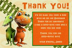 possible thank you card