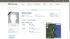 Genea-Musings: MyHeritage Introduces Instant Discoveries to all Users
