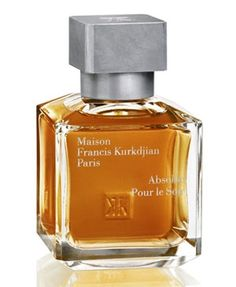Absolue Pour le Soir Maison Francis Kurkdjian. Unlike the gentle fragrance Cologne Pour Le Soir, Absolue Pour Le Soir is wild, intensive fragrance perfect for night out. Original notes of the Cologne: rose, honey, incense and benzoin are blended with ylang-ylang, cumin, Atlas cedar and sandalwood