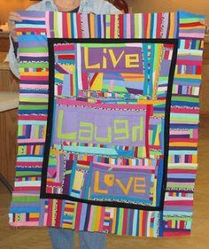 Live, Laugh, Love by Peg - unruly letters