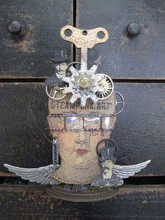 Studio 490: steampunk art...