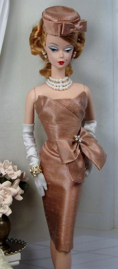 Showy Mocha for Silkstone Barbie by MatisseFashions on Etsy, $80.00