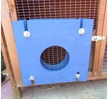 Bunny bomb about -activity area for rabbits. Extend your rabbits area by attaching our Bunny bomb about to their hutch and then to a run somewhere in the garden Ferret Cage, Bunny, Home Appliances, Rabbits, Outdoor Decor, Design, Home Decor, House Appliances, Cute Bunny