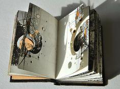 Aether - 2013 | Handbound artist's book | Louisa Boyd | Flickr